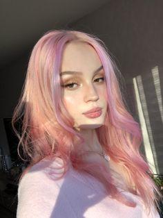 Hair Color Streaks, Hair Dye Colors, Cool Hair Color, Hair Inspo, Hair Inspiration, Dye My Hair, Pink Hair Dye, Coloured Hair, Aesthetic Hair
