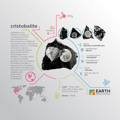 Cristobalite is named after Cerro San Cristóbal in Pachuca Municipality Hidalgo Mexico.