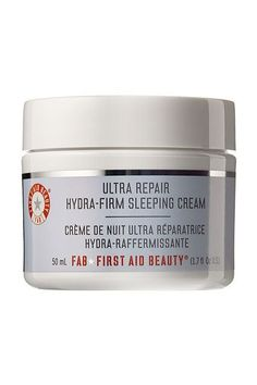 This Best-Selling Moisturizer Is Perfect For Sensitive Skin. First Aid Beauty Ultra Repair Hydra-Firm Sleeping Cream, $38, available at Sephora.