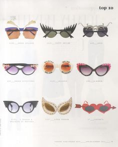 36f7998747 Our Wildfox Bel Air sunglasses in Company Magazine in their High Street  Edit issue for Spring