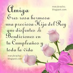 Spanish Birthday Wishes, Birthday Poems, Birthday Board, Birthday Messages, Happy Birthday Christian Quotes, Happy Birthday Quotes, Happy Birthday Wishes, Birthday Greetings, Happy Mother S Day