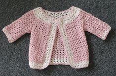 Ravelry: HayleysCreations' V-st Baby Cardigan 3 - Teresa Restegui http://www.pinterest.com/teretegui/ ✔