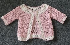 Ravelry: HayleysCreations' V-st Baby Cardigan