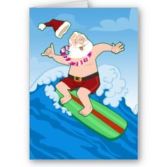 The 89 best aussie xmas images on pinterest christmas ornaments australian christmas idea surfing santa christmas cards repinned by http m4hsunfo