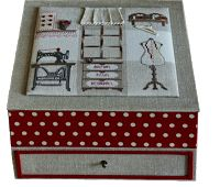 Солнечная нить: Коробка для швейных принадлежностей