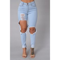 Tornado Jeans ($30) ❤ liked on Polyvore featuring jeans, bottoms, pants and womens jeans