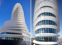EEA Office, Groningen, The Netherlands; UN Studio; high-performance facade