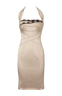 Karen Millen Lingerie Satin Dress