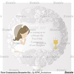 Shop First Communion Brunette Girl Silver Damask Balloon created by KPW_Invitations. Helium Gas, Photo Balloons, First Communion Invitations, Balloon Shapes, Custom Balloons, First Holy Communion, Brunette Girl, Invitation Design, Damask