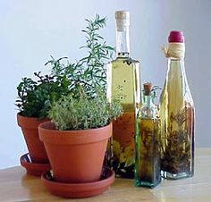 How to grow herbs indoors! This year, I will be growing lots of them...including having our first garden. :)