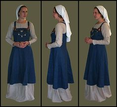 Viking Apron Dress - liking the head wrap I have to have one of these