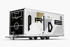 PAOK FC official moblie store on Behance Pride And Glory, Mobile Boutique, Environmental Graphics, Art Direction, Layout Design, Signage, Locker Storage, Behance, Typography