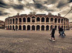 Arena di Verona -The Verona Arena is a Roman amphitheatre in Verona, Italy