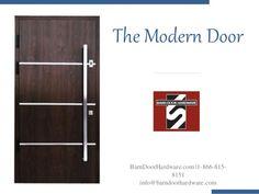 The Modern Door BarnDoorHardware.com |1-866-815- 8151 info@barndoorhardware.com