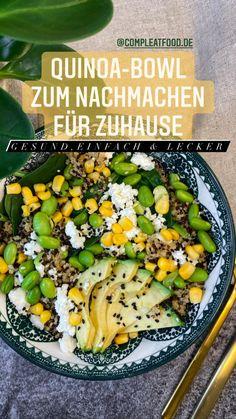Healthy Recepies, Good Food, Yummy Food, Food Bowl, Main Meals, Food Hacks, Food Inspiration, Vegetarian Recipes, Food And Drink