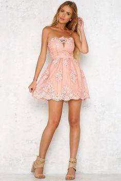 Dream Girlfriend Dress Rose