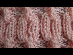 ▶ Pattern: Cable Chain - YouTube