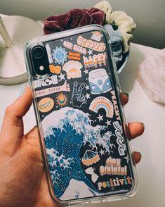 Aesthetic phone case   diy   clear phone case   hip   retro