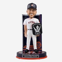Cy Young Award, Justin Verlander, American League, Houston Astros, Bobble Head, Team Logo, Mlb, Celebration, Awards