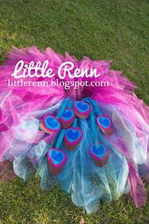 Little Renn: The Peacock Tutu