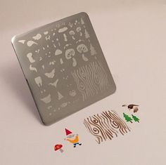 Clear Jelly Stamper Stamping Plate - In The Woods