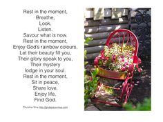 Meditation Monday - Learning to Rest