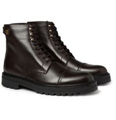 Belstaf - Barrinfton Rubber-sole Leather Boots