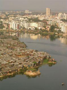 Bario, slum, Bangladesh.