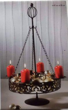 Kerzenhalter für 4 Kerzen