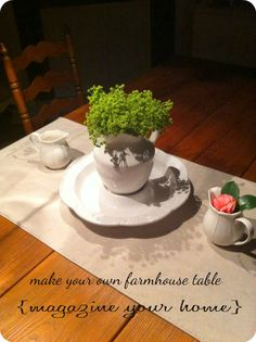 Pallets woods and farmhouse table on pinterest for Make your own farm table