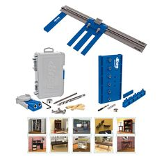 Create strong joints with your kreg jig k5 step 3 position the kreg diy project kit rip cut cuts plywood and other sheet goods quickly and solutioingenieria Images