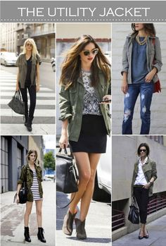 I'm a huge fan of the Utility Jacket. It gives a little bit of edge to any outfit.