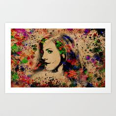 Lana del Rey Art Print by Ace of Spades - $15.00