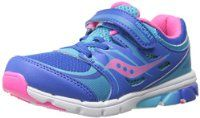 Saucony Girls Baby Zealot Sneaker (Toddler/Little Kid)