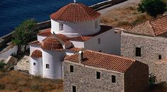 Buildings in Monemvasia, Greece, My kind of town
