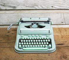 Vintage Hermes 3000 Typewriter: Working Typewriter by AuroraMills, $235.00