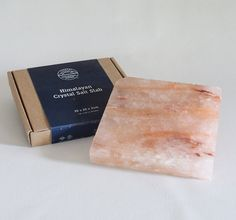 The perfect gift for food lovers - Himalayan salt slab Himalayan Salt, Recipe Ideas, Lovers, Crystals, Cooking, Recipes, Gifts, Food, Cucina