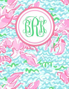 You Got Personal }: MONOGRAMMED LILLY & SORORITY FREE BINDER COVER ...