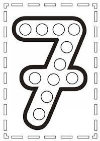 Escuela infantil castillo de Blanca: YAYOI KUSAMA Numbers Preschool, Preschool Learning Activities, Learning Numbers, Writing Numbers, Preschool Worksheets, Kindergarten Math, Do A Dot, 2 Kind, Math For Kids