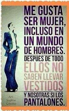 Ser mujer