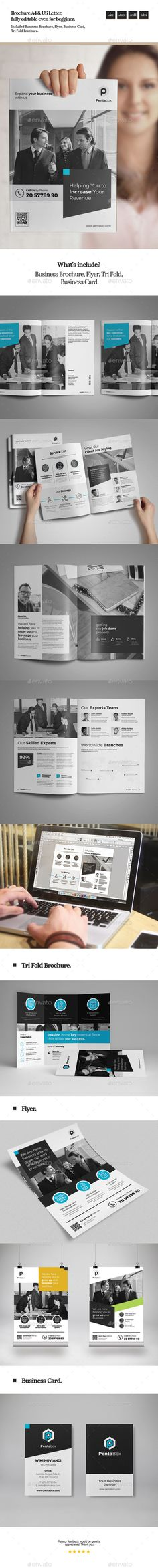 This Design Template Is Suitable For Marketing Brochure For Social