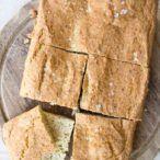 Flaxseed Bread, Coconut Flour Bread, Almond Flour, Coconut Bars, Almond Butter, Peanut Butter, Keto Foods, Keto Recipes, Paleo Diet
