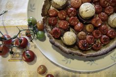 Tarte de Cogumelos e Tomate Cherry :: Mushroom and Cherry Tomatoes