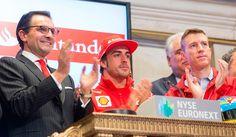 Alonso, en Wall Street