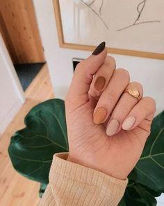 nails one color nails one color ; nails one color simple ; nails one color acrylic ; nails one color summer ; nails one color winter ; nails one color short ; nails one color gel ; nails one color matte Tan Nails, Fall Gel Nails, Summer Acrylic Nails, Cute Acrylic Nails, Coffin Nails, Gradient Nails, Cute Fall Nails, Summer Nails, Simple Fall Nails