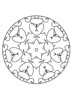 this advanced mandala coloring sheet is a fun design and quite challenging to color mandala iii coloring page can be decorated online with the
