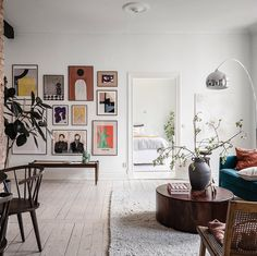 Home Decoration Ideas Handmade A Scandinavian Apartment with Exposed Brick Wall - The Nordroom.Home Decoration Ideas Handmade A Scandinavian Apartment with Exposed Brick Wall - The Nordroom Scandi Home, Scandinavian Apartment, Scandinavian Home, Industrial Scandinavian, Lovely Apartments, Turbulence Deco, Exposed Brick Walls, Exposed Brick Apartment, Victorian Homes