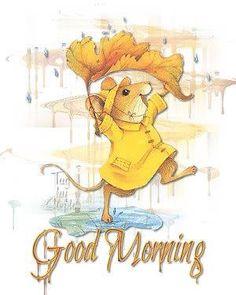 Good morning from rainy PA!