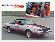 1981 Buick Regal Indy Pace Car : Dean's Garage