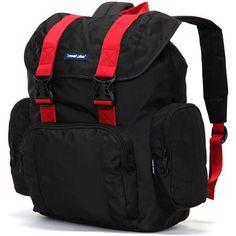 Velký černo červený cestovní batoh - Travel plus 7503 054bd97746